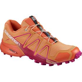 Salomon W's Speedcross 4 Shoes Bird of Paradise/Nasturtium/Pink Yarrow
